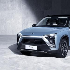 NIO ES8 : les batteries interchangeables reviennent sur la table