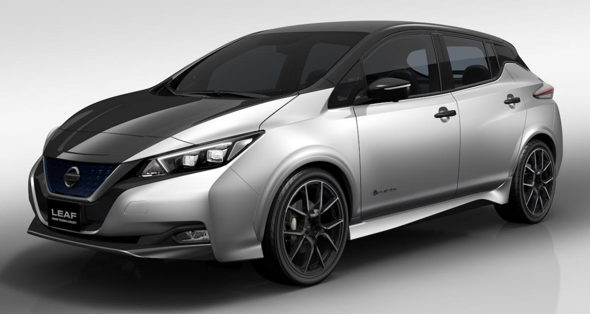 La nouvelle Nissan Leaf se prend pour une GT grâce au concept Grand Touring
