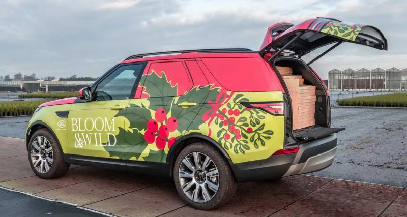 Le nouveau Land Rover Discovery utilitaire peut enfourner 300 sapins !