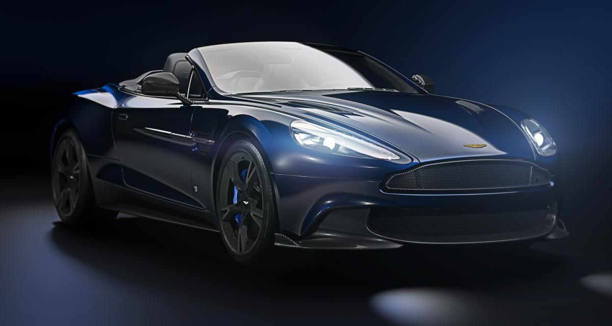 Une Aston Martin aux couleurs d'une star du Superbowl