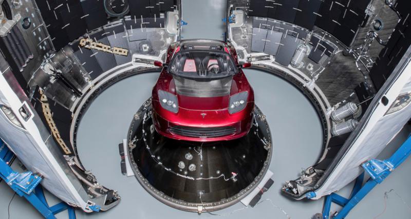 Elon Musk va envoyer une vraie Tesla Roadster autour de Mars