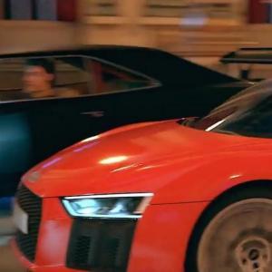 Selon Audi, Cendrillon roule en R8 et fait la course avec