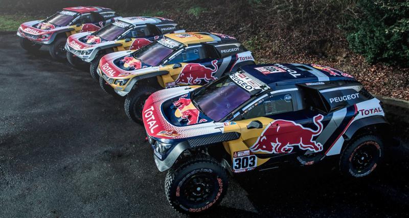 Dakar 2018 : Peugeot annonce la couleur