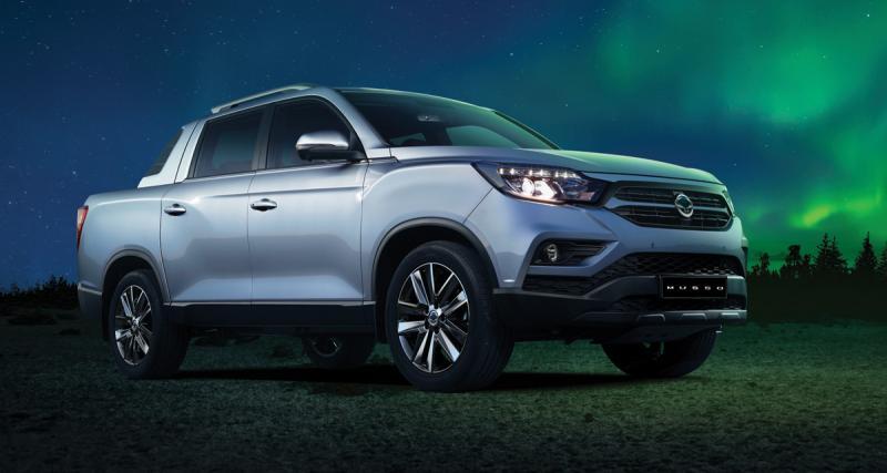 SsangYong Q200: un nouveau pickup sur le marché