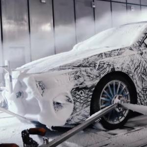 La future Mercedes Classe A à l'épreuve du froid