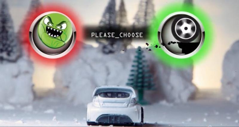 Rachetez-vous une conduite auprès du Père Noël avec ce Snowkhana interactif