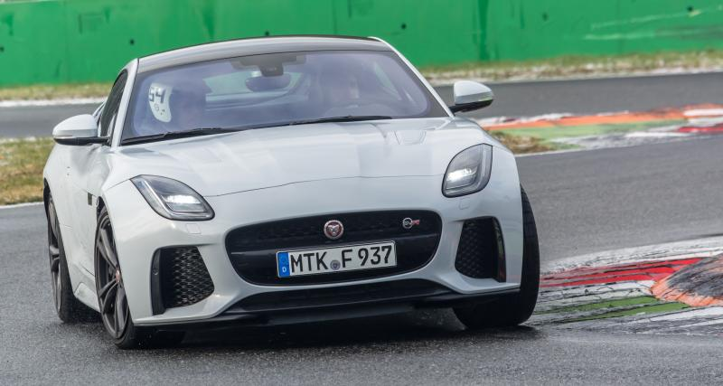Jaguar F-Type SVR: sportive à road trip