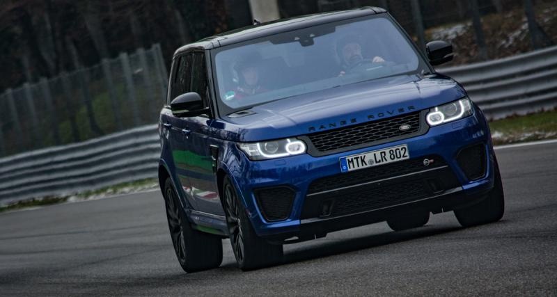 Range Rover SVAutobiography Dynamic: luxe à toutes vitesses