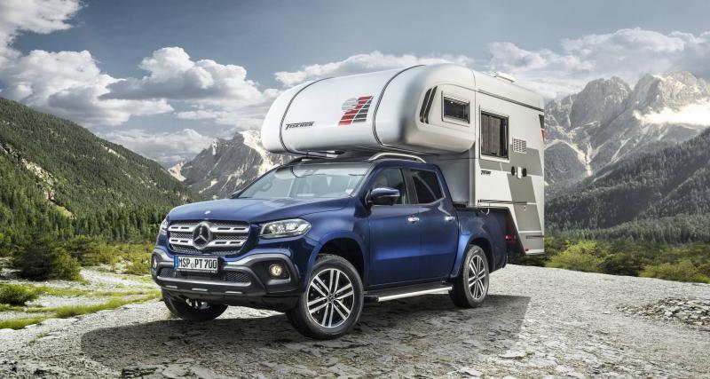 Le Mercedes Classe X se transforme en camping-car