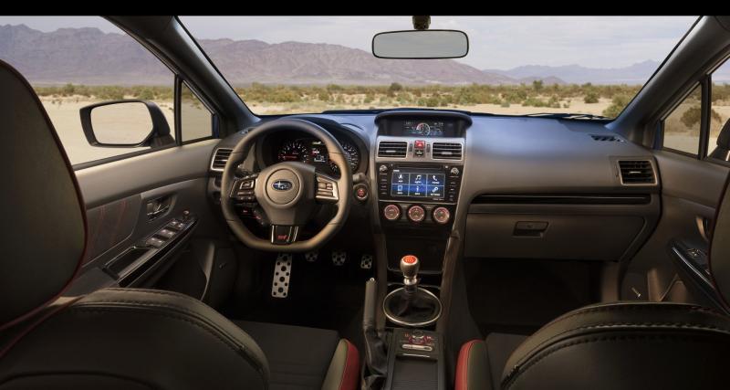 Subaru WRX STI (2018) : série limitée pour finir