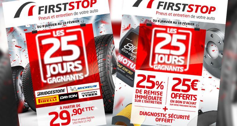 FirstStop: des promos pour la nouvelle année