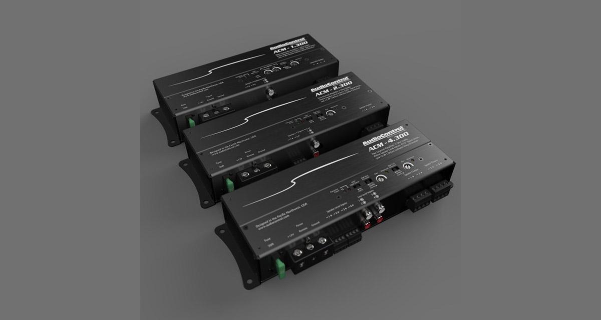 Au CES 2018, AudioControl présentait ses premiers micros amplis Classe D