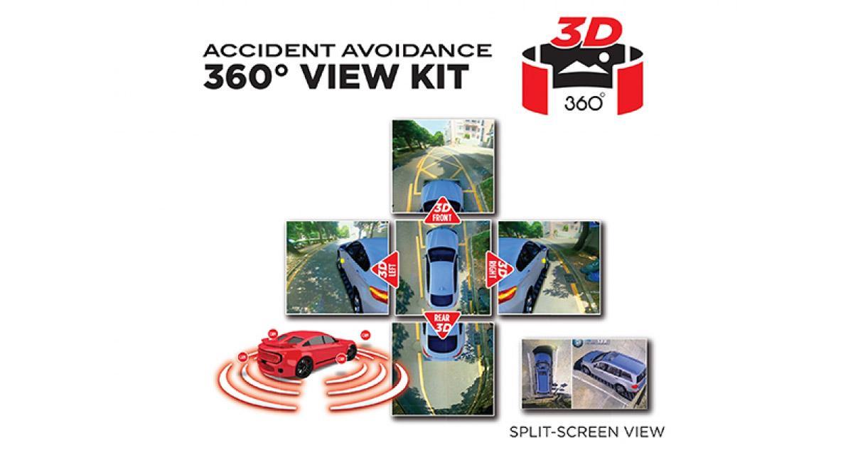 Au CES 2018, Ibeam présente un système de caméras 3D à 360° pour manoeuvrer en toute sécurité