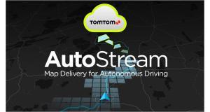 Au CES 2018, Tomtom présente AutoStream, un service de cartographie pour la conduite autonome