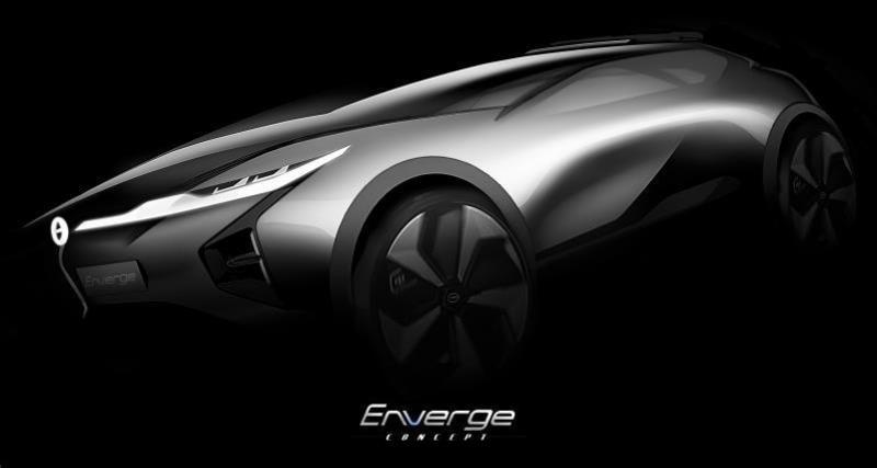 GAC Enverge Concept : un SUV coupé électrique venu de Chine