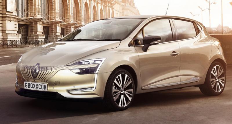 La future Renault Clio avec le regard du concept Symbioz ?