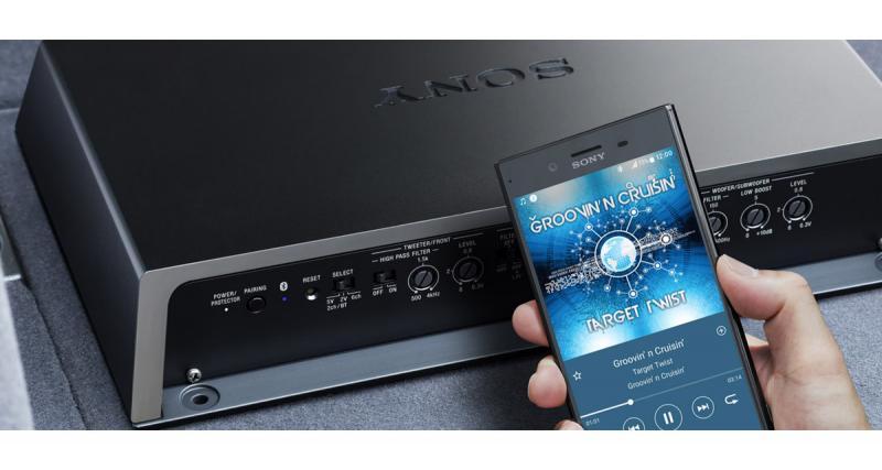 Sony dévoile un amplificateur 5/6 canaux avec DSP et Bluetooth intégré au CES 2018