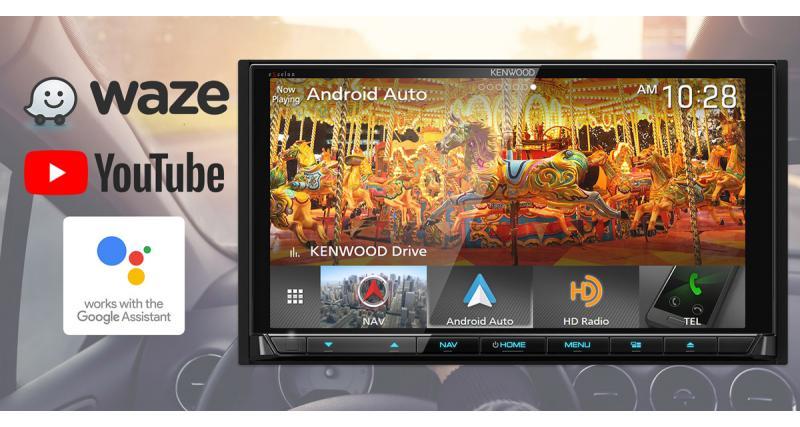 Au CES 2018, Kenwood dévoilait un combiné multimédia haut de gamme avec Google Assistant