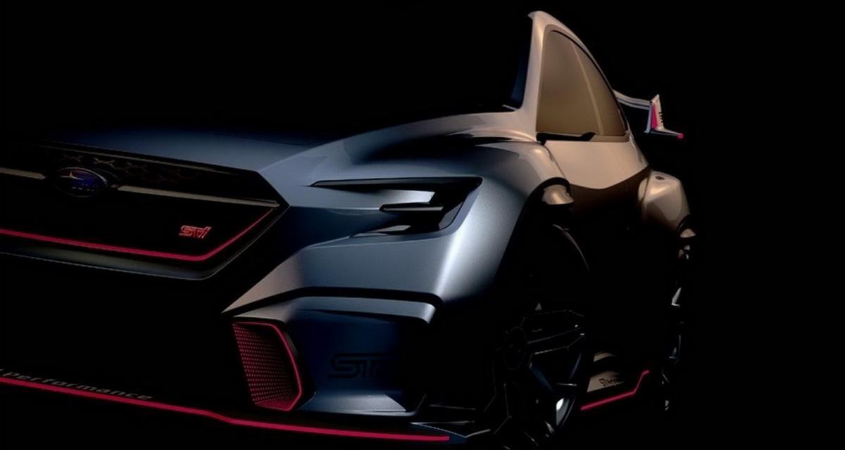 Subaru Viziv Performance : bientôt en version STI