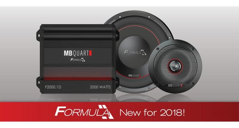 Lors du CES 2018, MB Quart dévoilait sa nouvelle gamme Formula Series de haut-parleurs et d'amplificateurs