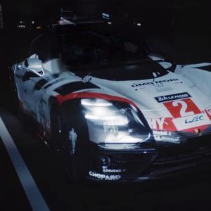 La Porsche Panamera se déguise en 919 LMP1 grâce à simple rétroprojecteur