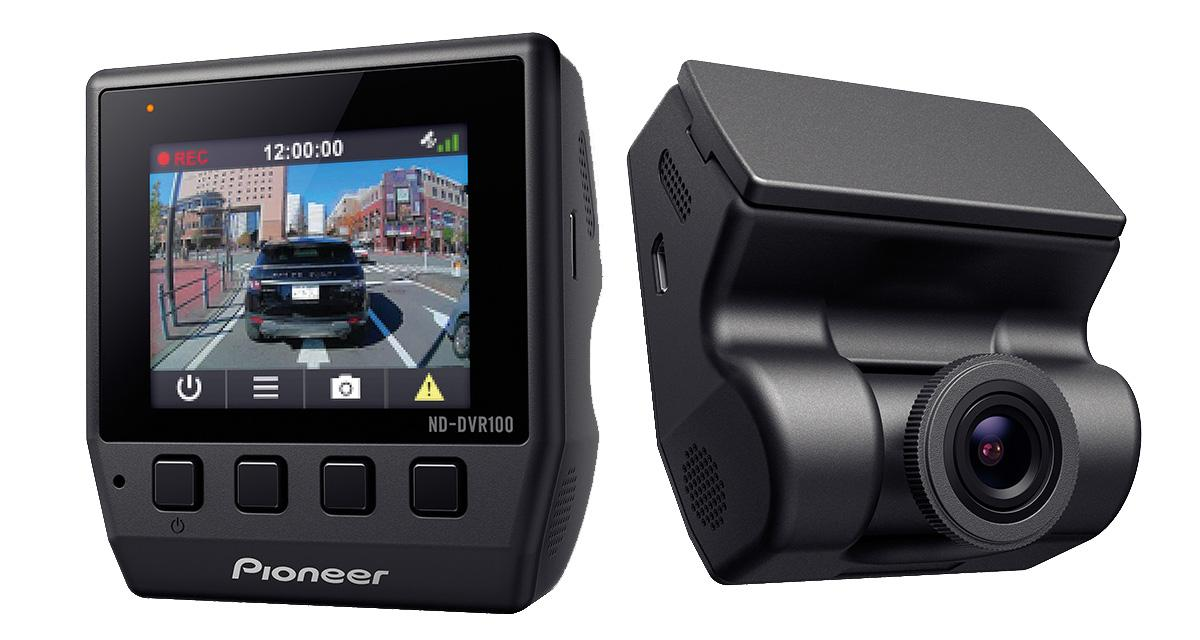 Pioneer présente un caméra dash cam très complète à un prix très attractif