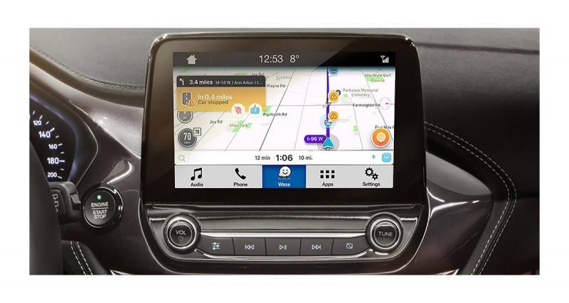 Waze sera bientôt disponible sur les Ford équipées du système multimédia Sync 3 via l'iPhone