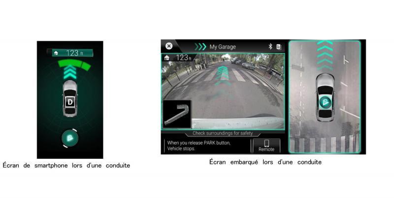 Clarion présente une technologie avancée de stationnement autonome