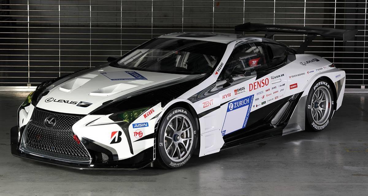 La Lexus LC s'engage aux 24 Heures du Nürburgring