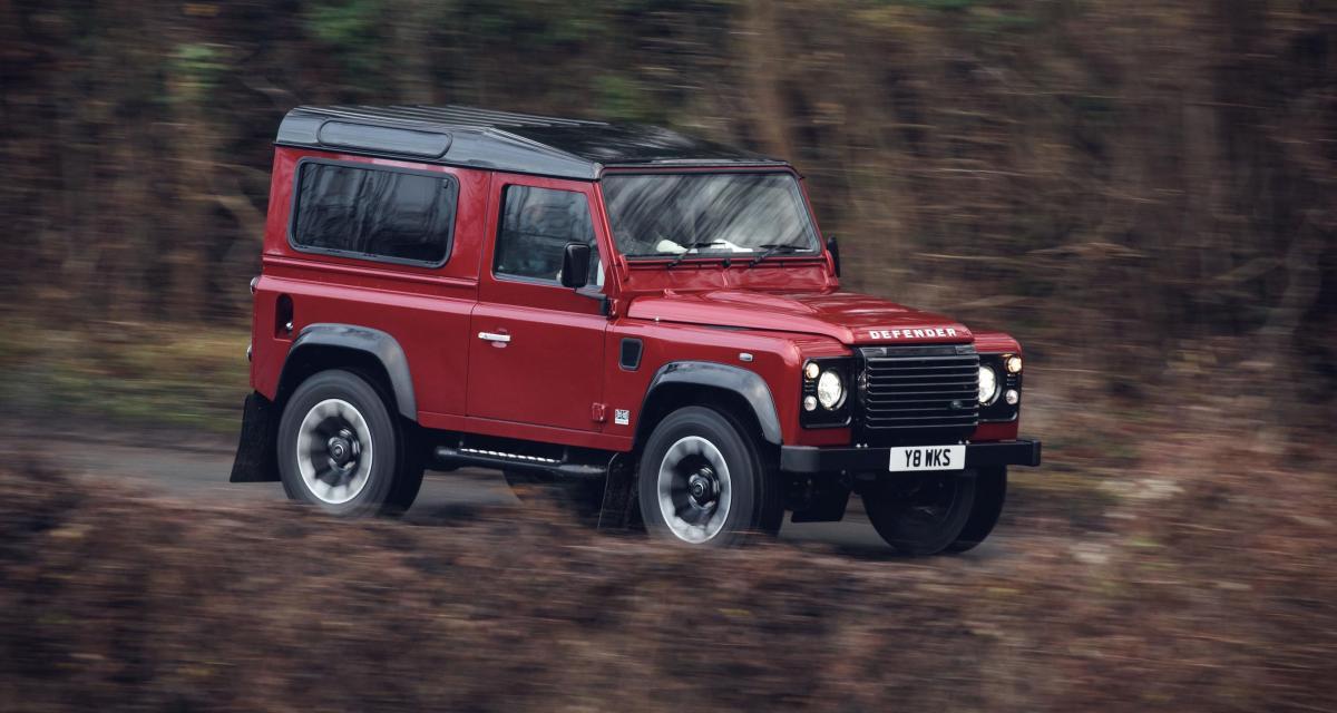 Land Rover Defender V8 Works : le plus puissant Defender de l'histoire