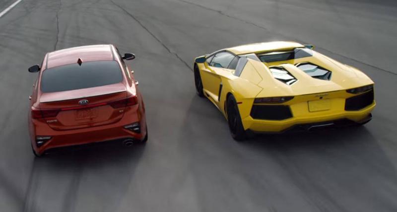 Quand Kia ose comparer l'un de ses modèles à une Lamborghini...