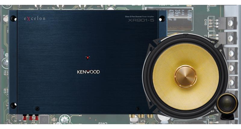 Au CES 2018, Kenwood présentait des nouveaux amplis et haut-parleurs audiophiles