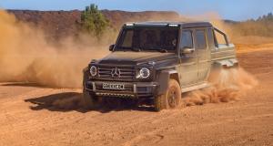 Vers une seconde génération du Mercedes Classe G 6x6 ?