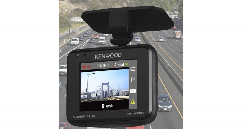 Au CES 2018, Kenwood dévoilait une nouvelle caméra dash cam offrant un rapport qualité/prix attractif