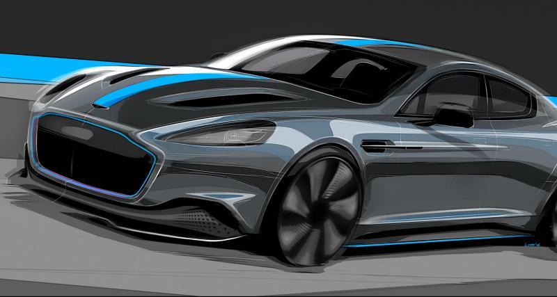 """Une """"limousine"""" électrique dans les cartons d'Aston Martin"""