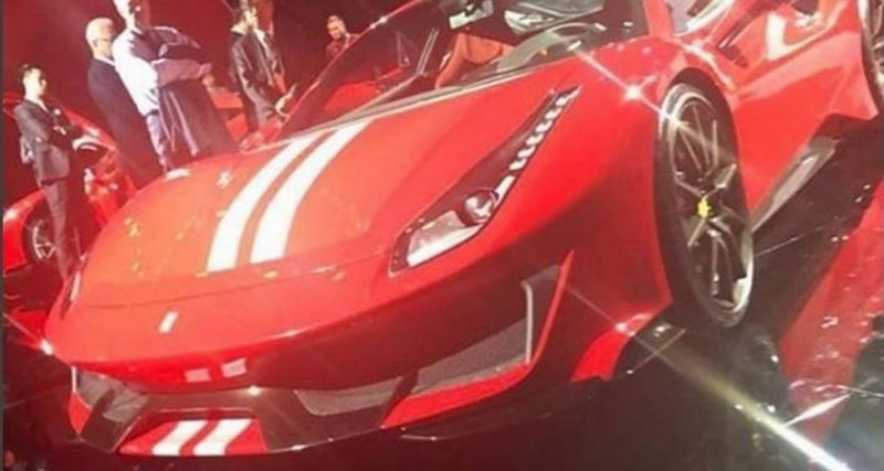 Ferrari 488 GTO : 1ère photo de la plus puissante des Ferrari V8