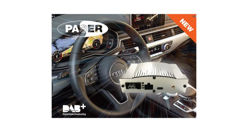 "Paser commercialise un tuner DAB ""plug and play"" pour les Audi"