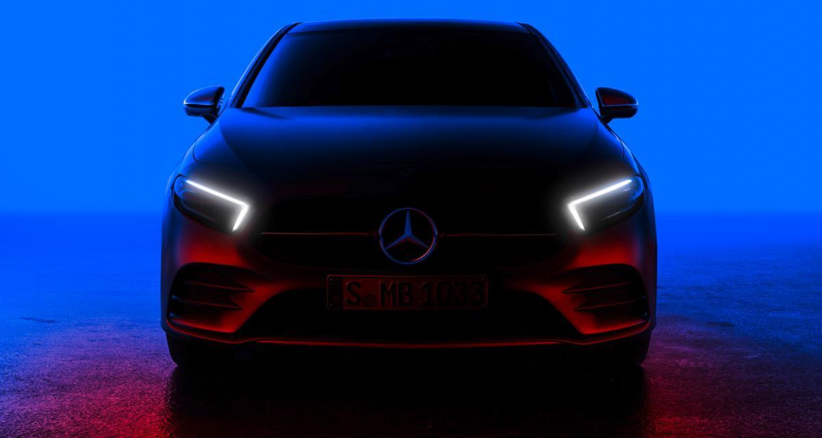 Nouvelle Mercedes Classe A (2018) : 1ère photo sans camouflage