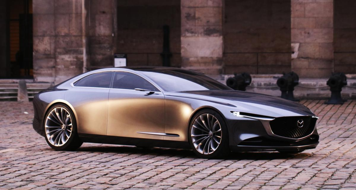 La Mazda Vision Coupé comme vous ne l'avez jamais vue au Festival Automobile