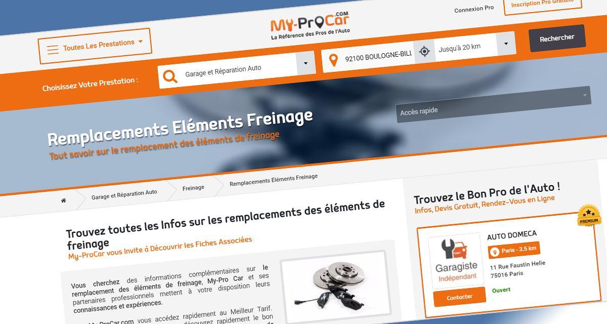 My-Procar.com: un portail dédié à l'entretien de votre auto