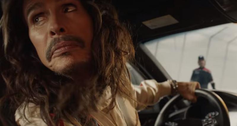 Super Bowl : Steven Tyler d'Aerosmith s'offre un lifting en Kia Stinger