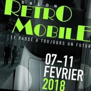 Salon Rétromobile 2018