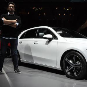 A la rencontre de la nouvelle Mercedes Classe A
