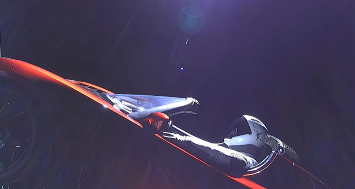 SpaceX : la Tesla Roadster entame son voyage dans l'espace
