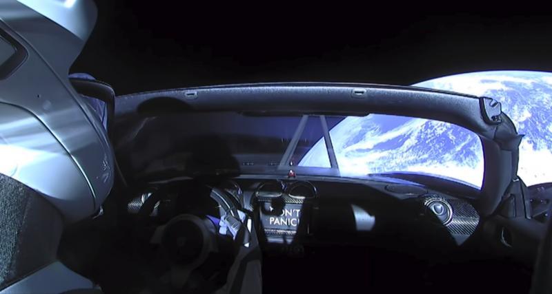 La planète Mars dans le GPS d'Elon Musk