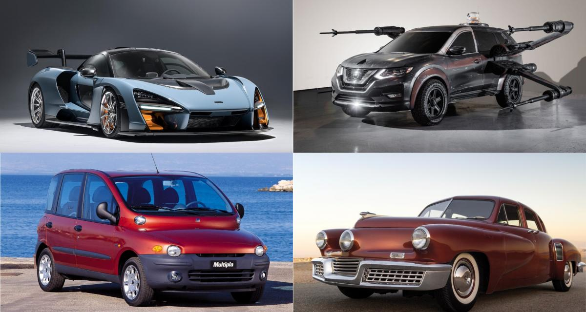10 voitures qui méritent d'accompagner la Tesla Roadster dans l'espace