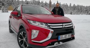 Essai Mitsubishi Eclipse Cross : à l'épreuve de la glace