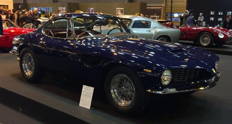 Rétromobile 2018 : Ferrari 250 GT Shark Nose (1962)