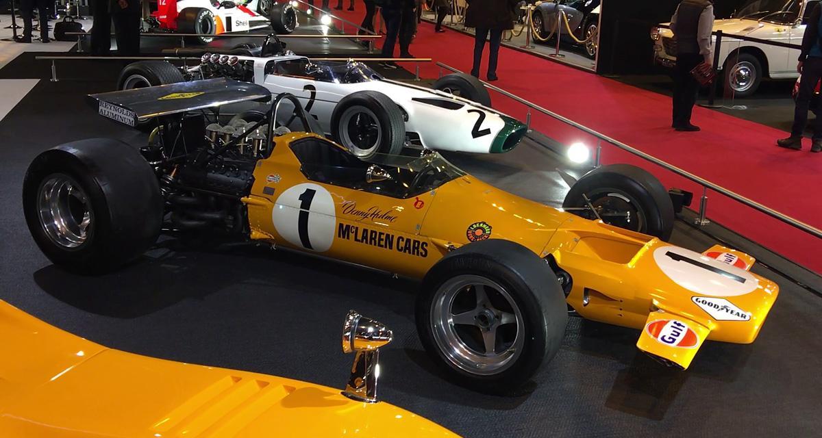 Rétromobile 2018: McLaren M7A (1968)
