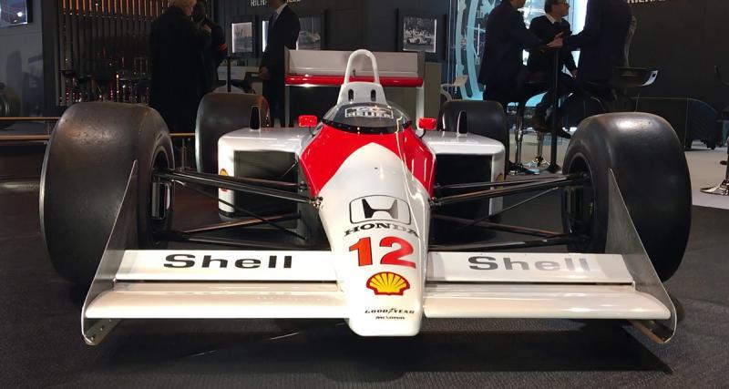 Rétromobile 2018 - McLaren MP4/4